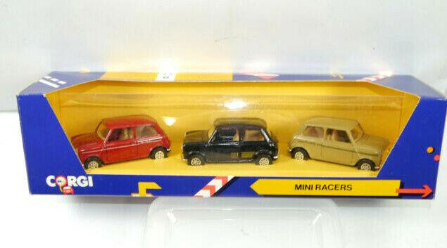 CORGI C18/1 Mini Cooper Racers 3er Set Metall Modellauto 1:43 (K70)