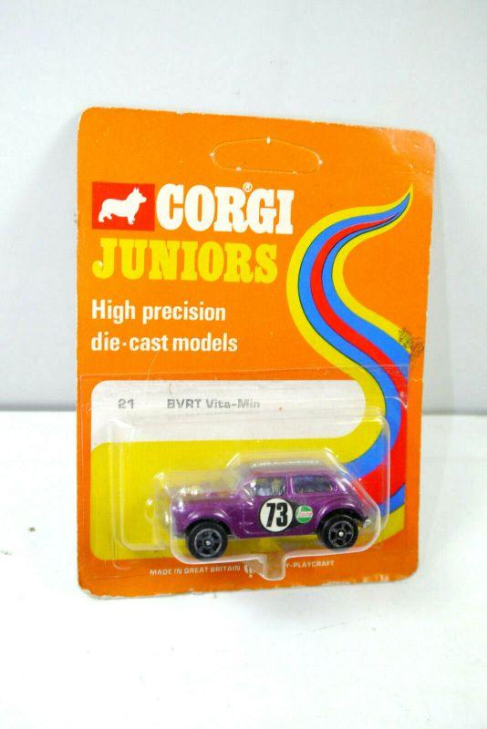 CORGI Juniors 31491 BVRT Vita-Min ( orange OVP ) Modellauto Britain Neu (K70 #07