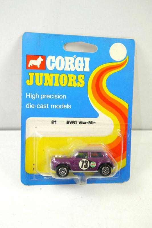 CORGI Juniors 31491 BVRT Vita-Min ( blaue OVP ) Modellauto Britain Neu (K70) #06