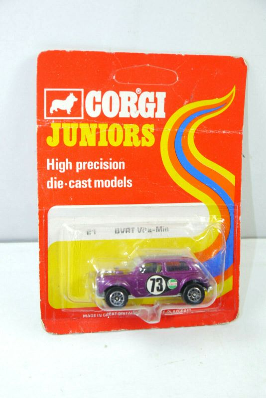 CORGI Juniors 31491 BVRT Vita-Min ( rote OVP ) Modellauto Britain Neu (K70) #05