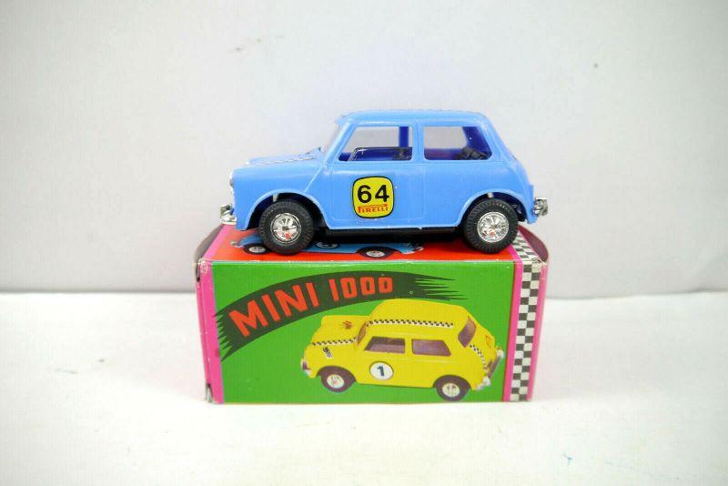 GOZAN Juguetes - Mini Cooper 1000 blau ESSO Modellauto ca.10,5cm (K70) #01