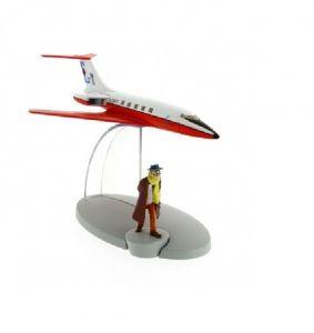TIM & STRUPPI Carreidas 160 Tintin Moulinsart Flugzeugmodell MOULINSART 29522 L*