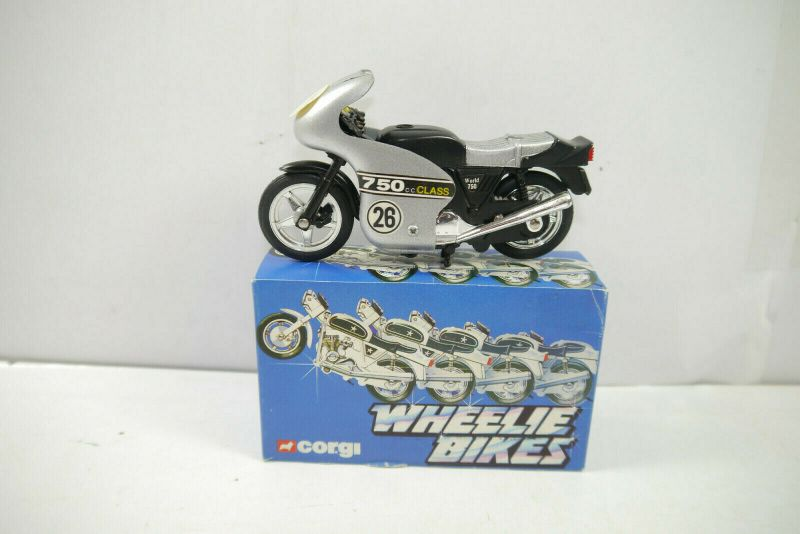 CORGI Wheelie Bikes 51697 Street Bike Motorrad 750 cc Class ca.12cm (K8) # O