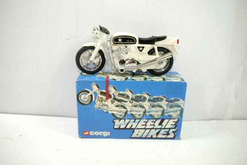 CORGI Wheelie Bikes 51697 Street Bike Motorrad Police ca.12cm - mit OVP (K8) # N