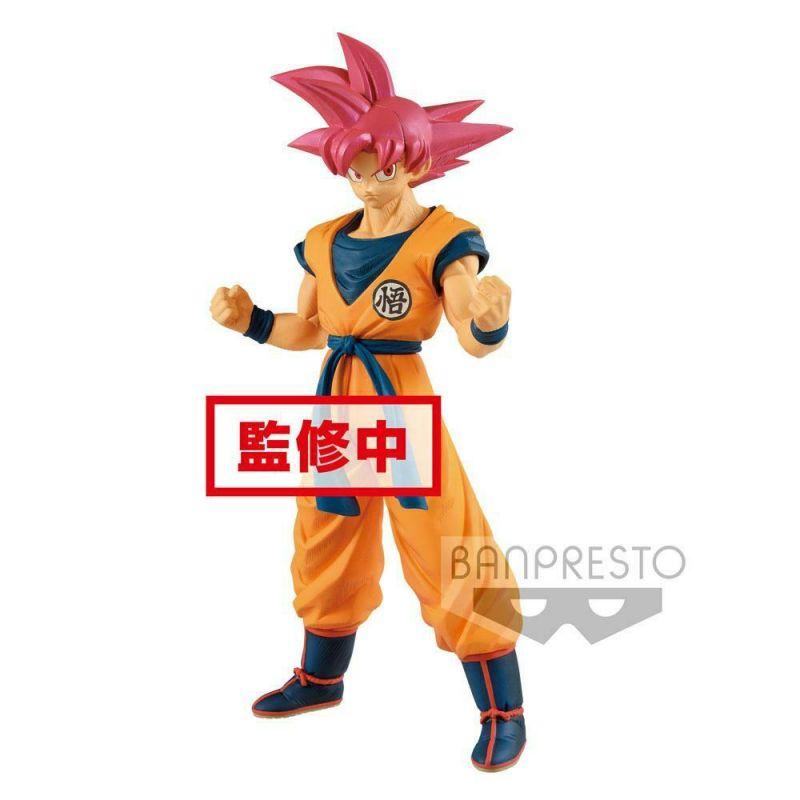 Dragonball Super Cyokuku Buyuden PVC Statue Super Saiyajin God Son Goku (L)