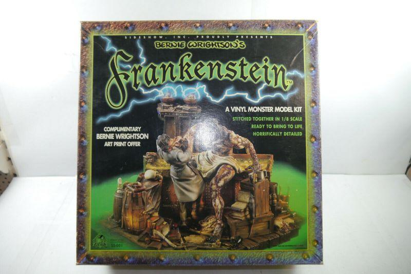 Frankenstein Vinyl Monster Bausatz Sideshow 1:8 in Box Bernie Wrightson´s (F29)
