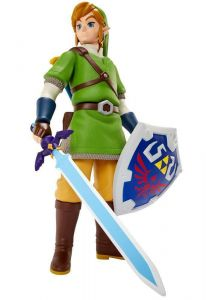 The Legend of Zelda Skyward Sword Deluxe Big Figs Actionfigur Link 50 Neu  (L)*