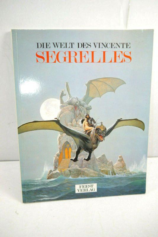WELT DES VINCENTE Segrelles Artbook SC FEEST VERLAG (MF19)