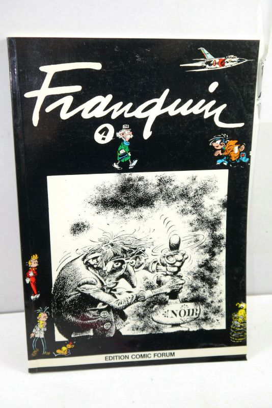 FRANQUIN seltener Band aus der EDITION COMIC FORUM Softcover (MF19)