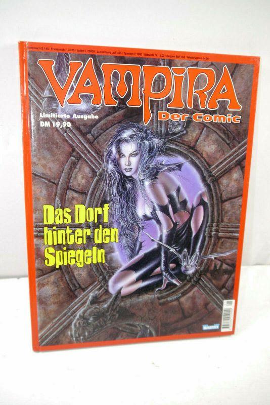 VAMPIRA Der Comic - Das Dorf hinter den Spiegeln Comic HC Limitiert BASTEI MF19
