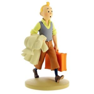 TIM & STRUPPI Tintin Tim auf Reisen Figur MOULINSART ca.12cm NEU (L)*