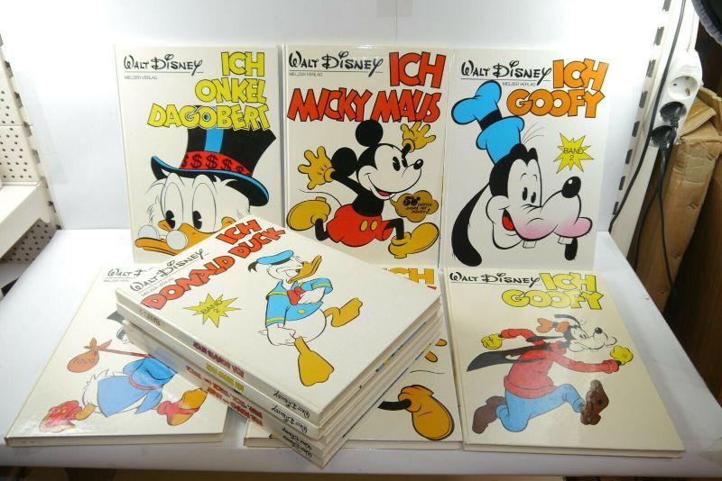 11 Bände Ich Goofy Ich Donald Ich Micky Ich Dagobert u.a. Melzer  Ehapa   (F28)