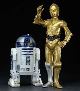 STAR WARS R2-D2 & C-3PO Figur Statue ARTFX + Kotobukiya 1:10 Neu (KB19) *