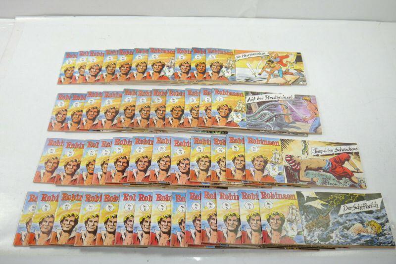 Robinson   Nr.1 bis 33 + 35 bis 48 Comic Piccolo DARGATZ Nachdruck  Z : 1 (K90)