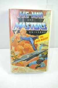 HE-MAN AND THE MASTERS OF THE UNIVERSE Tal der Macht VHS Kassette (K31)