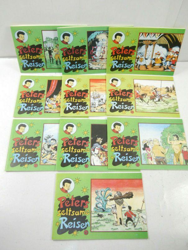 PETERS SELTSAME REISE Nr. 1 - 10 Piccolo CB COMIC Nachdruck (K90)