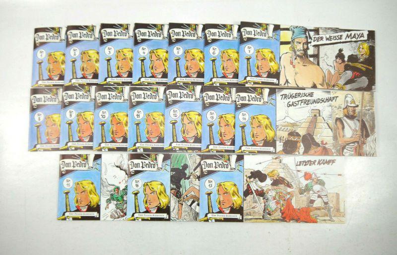 DON PEDRO Heft Nr. 1 - 17 Comic Piccolo DARGATZ Nachdruck (K90)