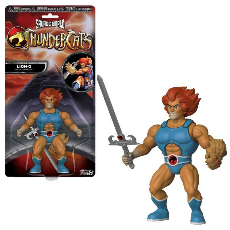 THUNDERCATS Savage World    LION-O Actionfigur FUNKO ca.15cm Neu (L)
