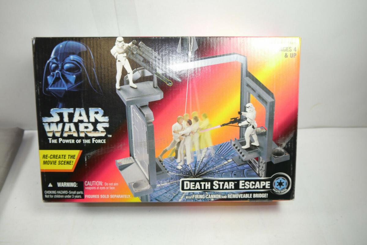 STAR WARS Power of the Force Death Star Escape  Kenner  in OVP (L)