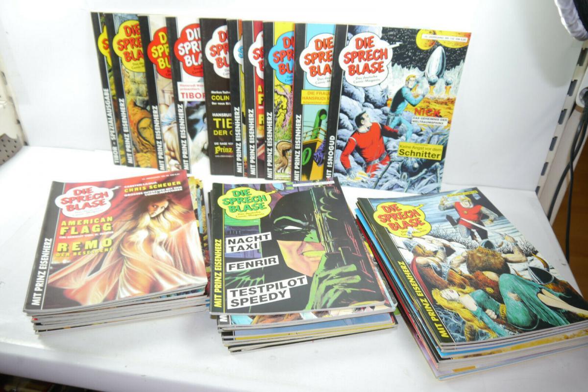 Die Sprechblase 50 X Magazine  Hethke  Konvolut    Z:2  (MF23)