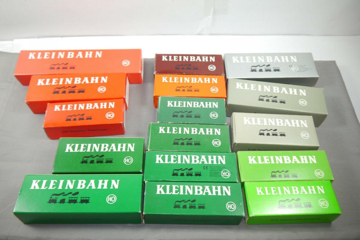 Kleinbahn 16 x Leerkartons für Lok´s / Hänger  H0   (MF20)