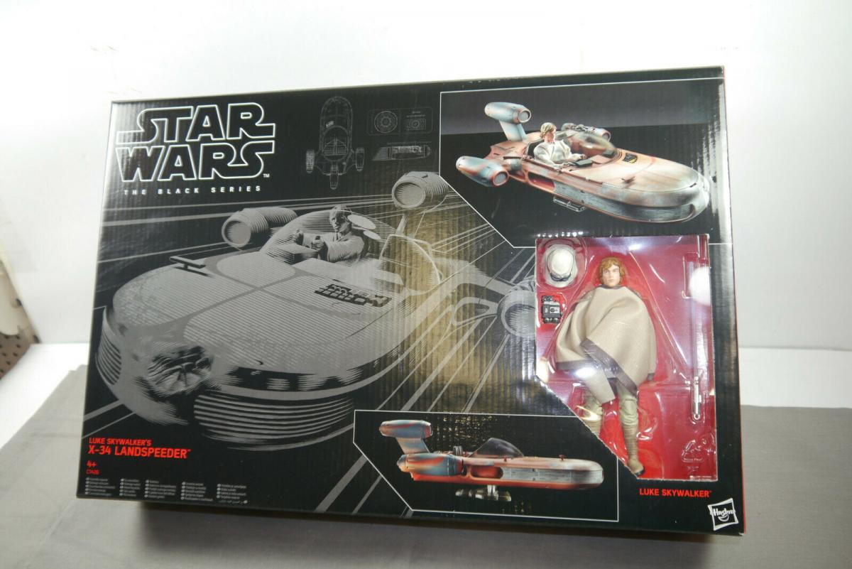 STAR WARS Black Series Luke Skywalker´s X-34 Landspeeder Hasbro Neu (L)
