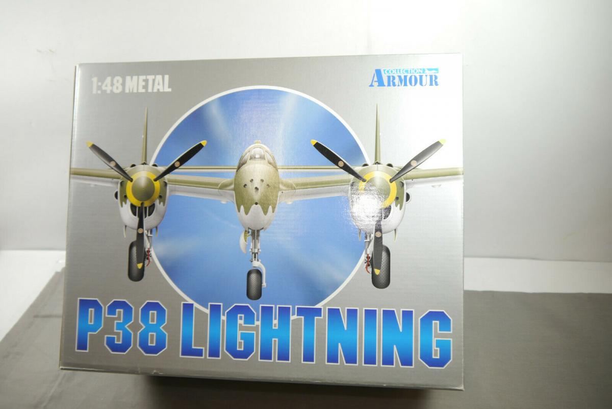 Armour P38 J Lightning 98137   Flugzeug 98150 1:48 in  OVP (F15)