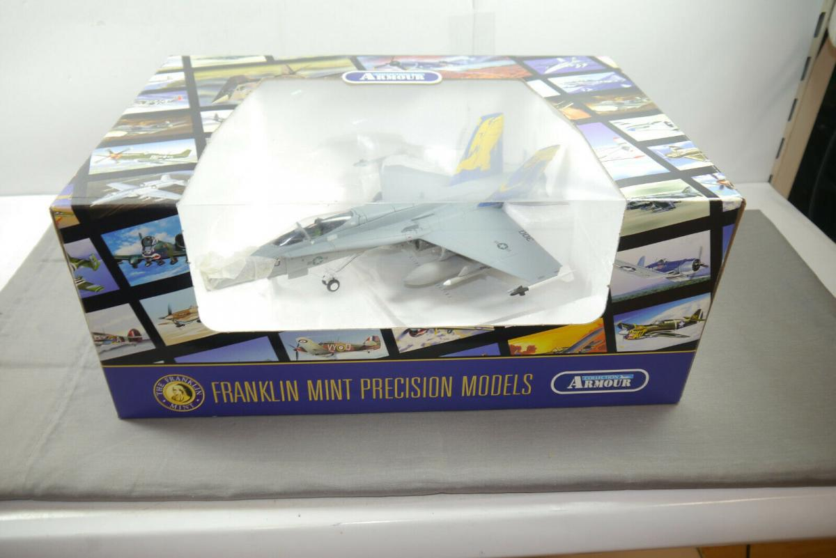 Franklin Mint Armour F18 Hornet Golden Dragon B11 C986 Flugzeug 1:48  OVP (F4)