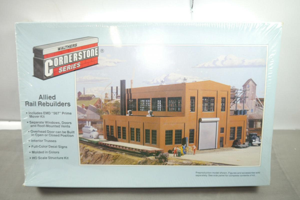 Walthers Cornerstone Interstate Allied Rail Rebuilders 933-3016  H0 OVP  MF11