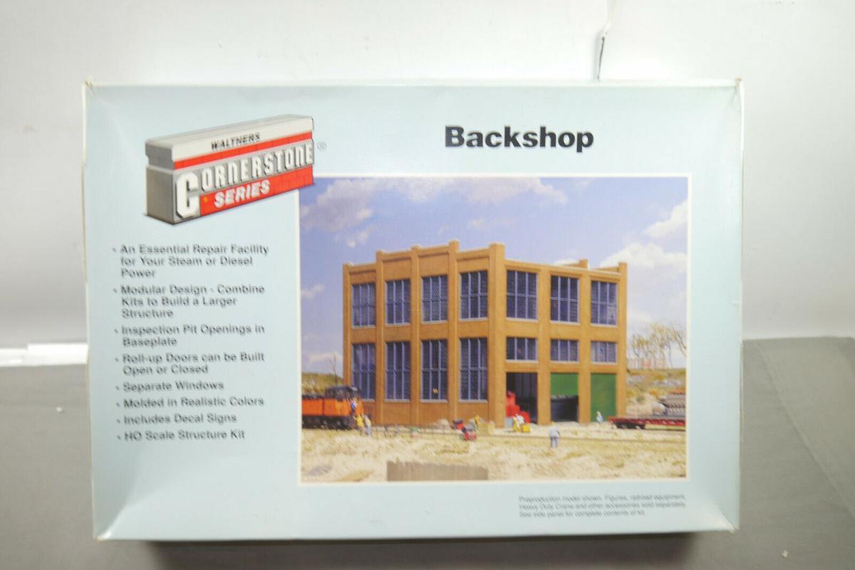Walthers Cornerstone  Backshop 933-3039 unkomplett  H0 1:87 ( MF10 )