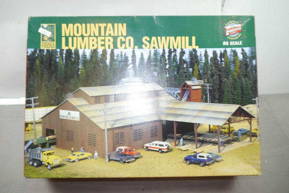 Walthers Cornerstone  Mountain Lumner Co. Sawmill  933-3058  H0 1:87 ( MF10 )