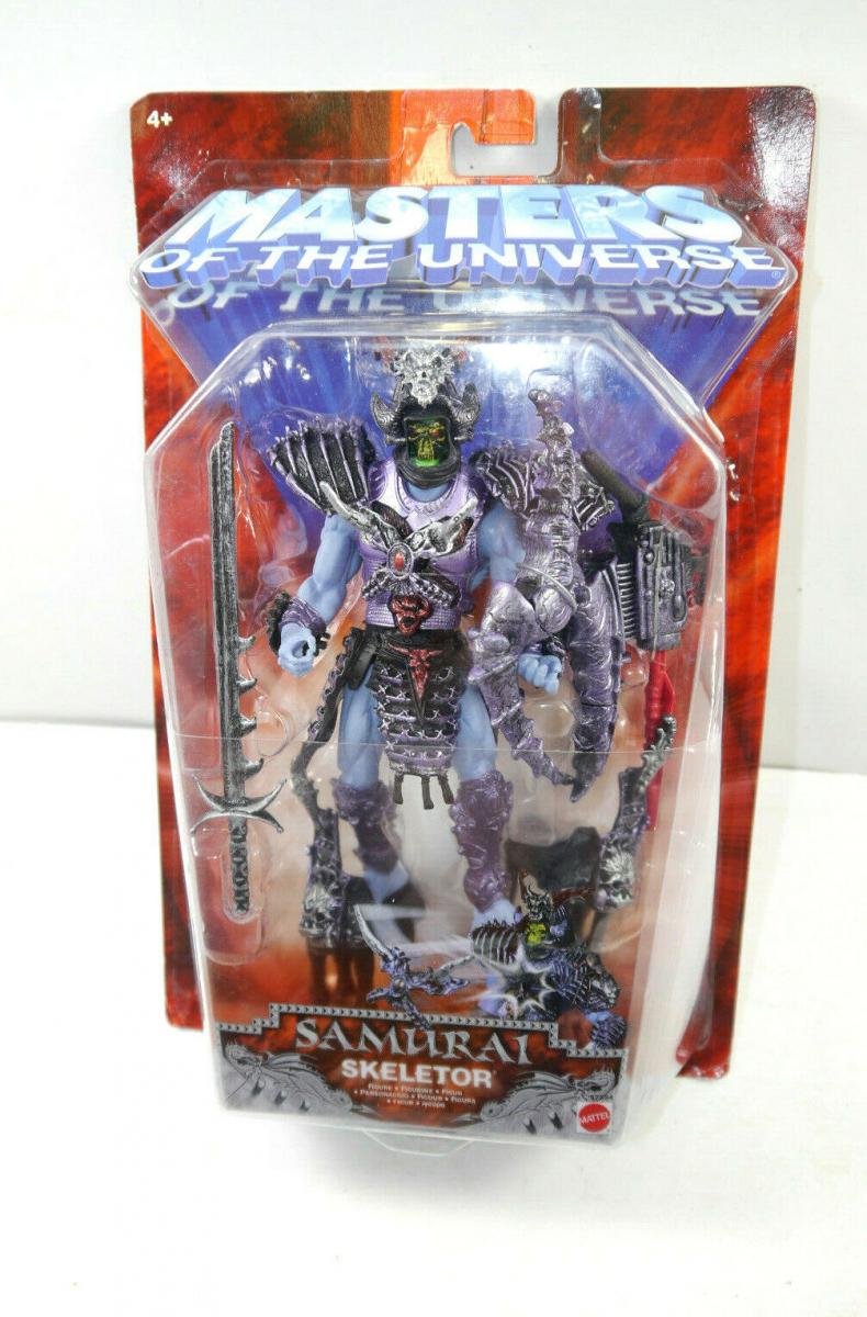 MASTERS OF THE UNIVERSE Motu 200X Samurai Skeletor Actionfigur MATTEL Neu (L)