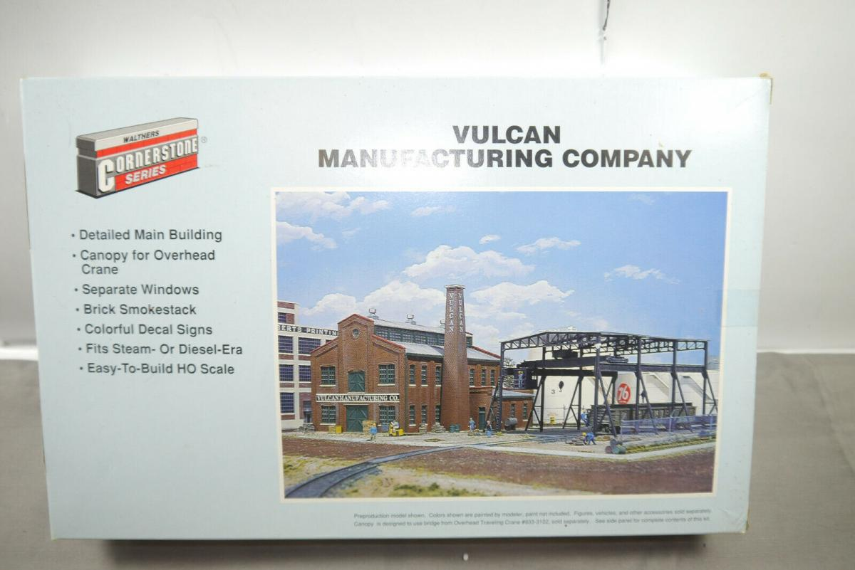 Walthers Cornerstone  Vulcan Manufacturing Company  933-3045 H0 1:87 ( MF10 )