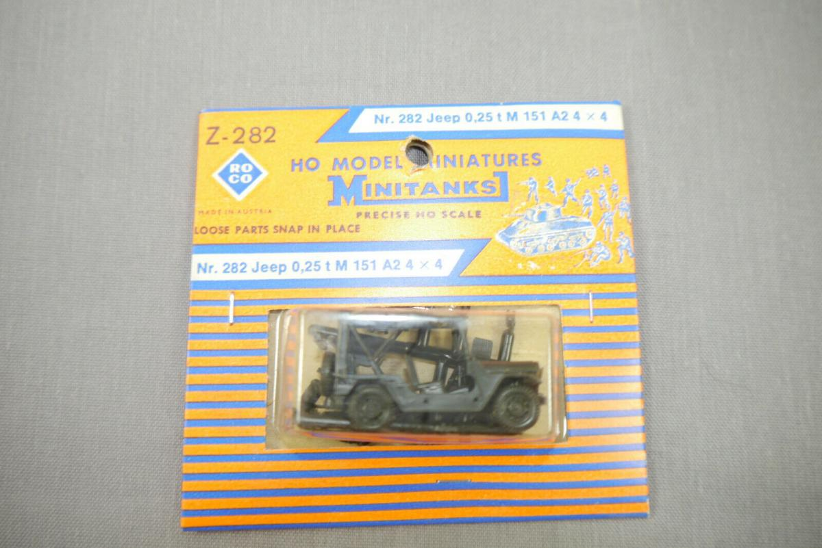 ROCO Z-282 Jeep 0,25 t M151A2 4x4 Neu OVP H0 1:87 (K44)