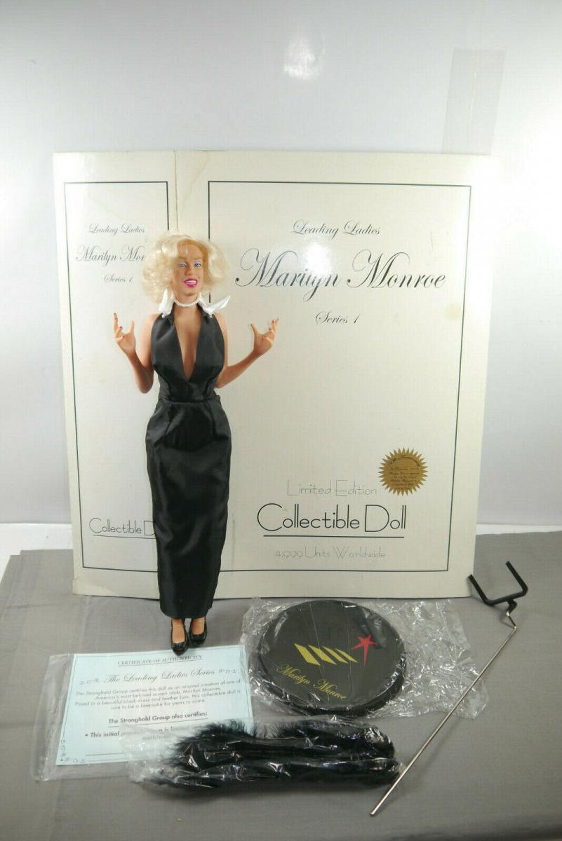 Leading Ladies Marilyn Monroe Serie 1 Collectible Doll ca. 39cm mit Box  (MF7)