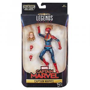 MARVEL LEGENDS Series Captain Marvel  Hasbro Kree Sentry   (KB11)