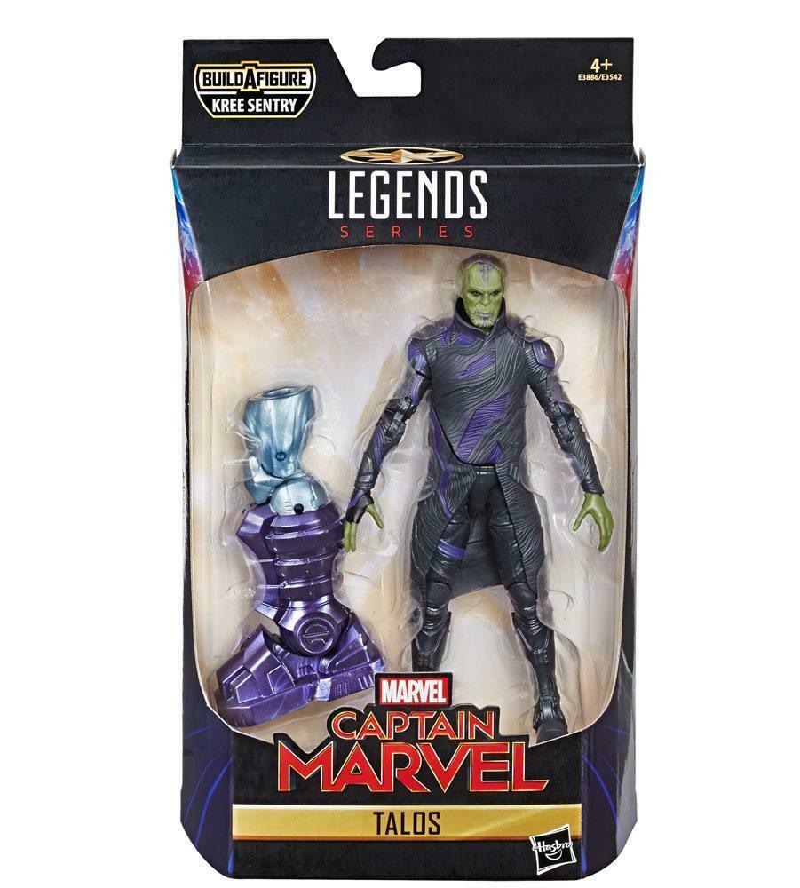MARVEL LEGENDS Series Captain Marvel Talos Hasbro Kree Sentry   (L)