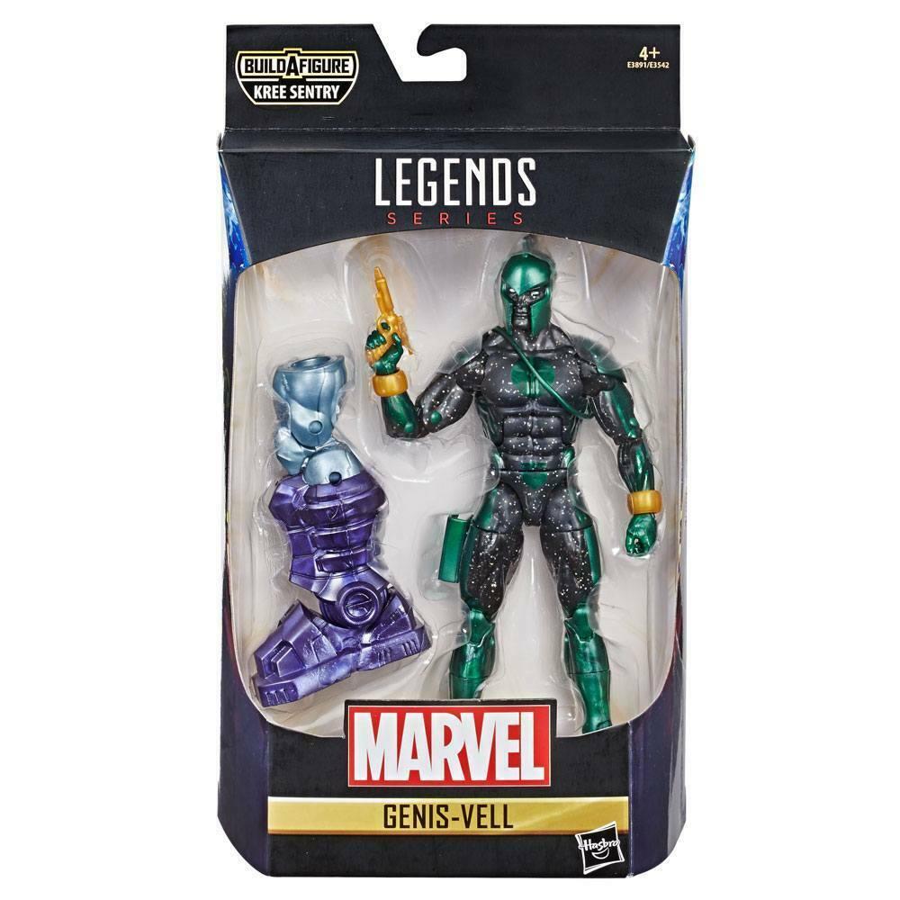 marvel legends series captain marvel genis-vell hasbro kree sentry (l)