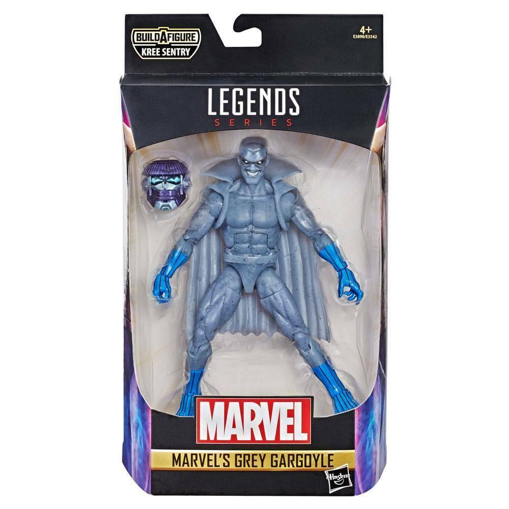 MARVEL LEGENDS Series Captain Marvel  Gray Gargoyle Hasbro Kree Sentry   (L)