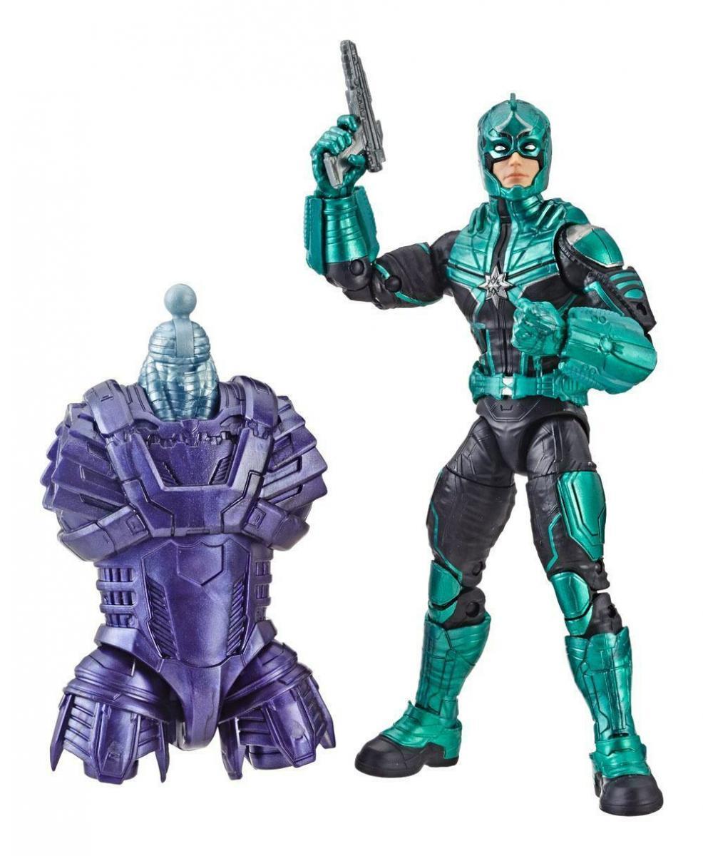 MARVEL LEGENDS Series Captain Marvel Yon-Rogg Hasbro Kree Sentry   (L)