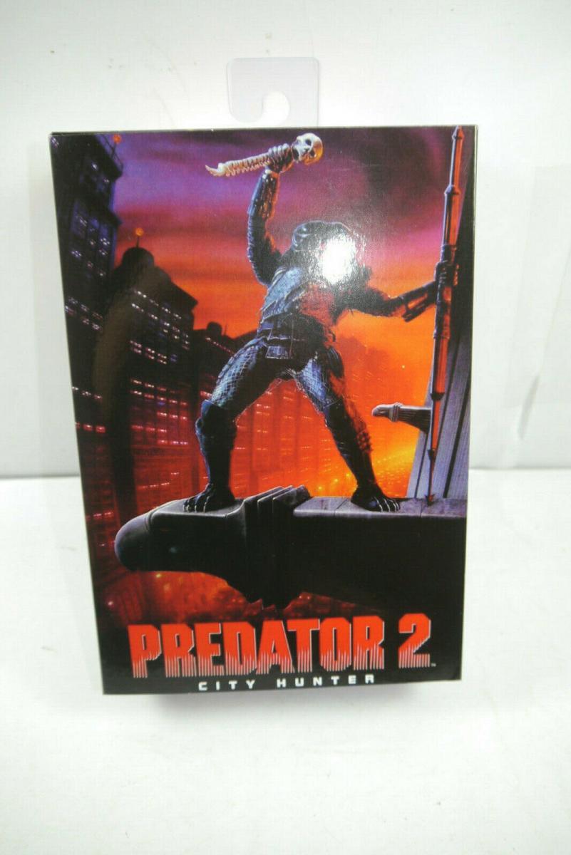 Predator 2   Ultimate City Hunter Actionfigur NECA ca.18cm  Neu (K9)*