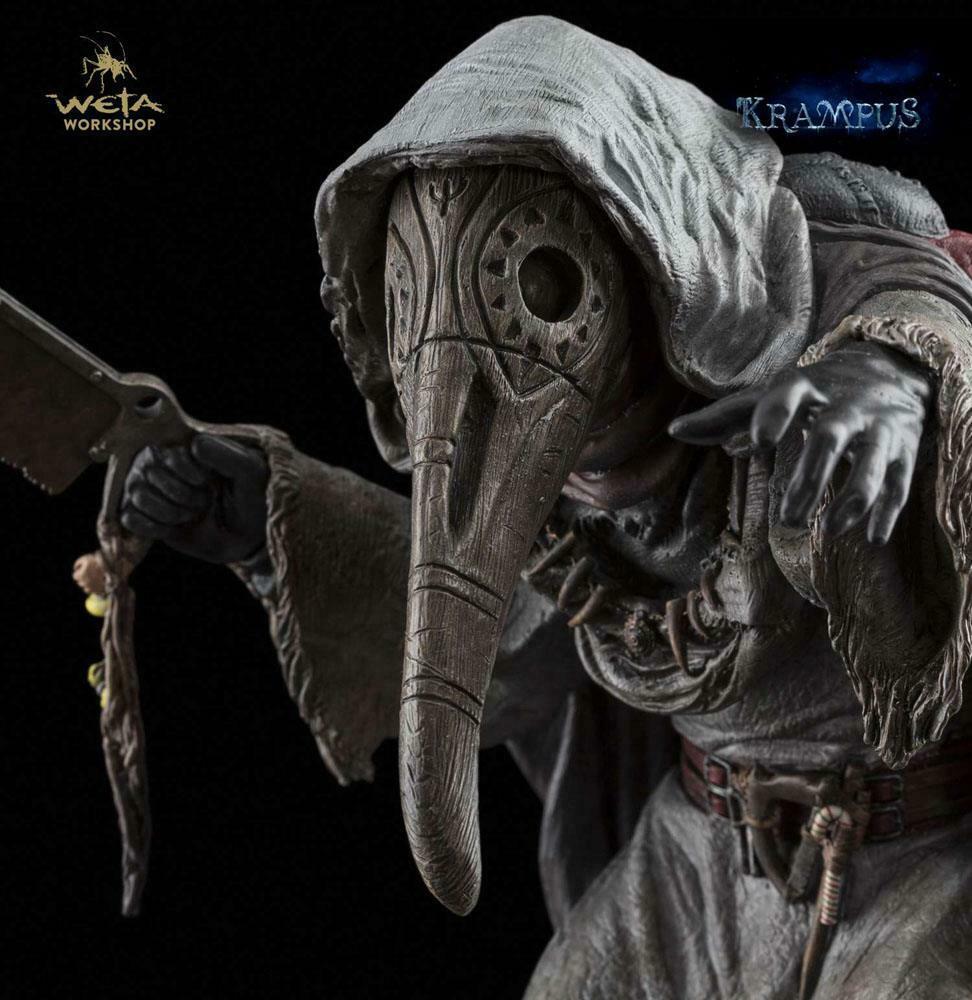 Krampus Statue 1/6 Dark Elf  2  ca. 26 cm  Statuen Krampus Weta ( L)