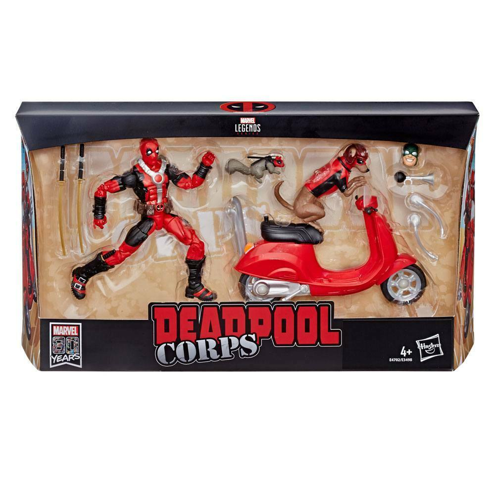Marvel Legends Series  Deadpool  Corps with Scooter ( L)