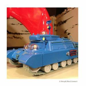 TIM & STRUPPI Mondpanzer Lunar Panzer aus Schritte auf dem Mond 1:72  29580 (L)