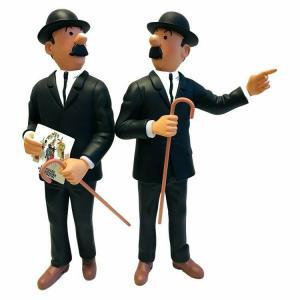 TIM & STRUPPI  Tintin Figur  Schulze und Schultze  Museum Figur ca.25cm  NEU *