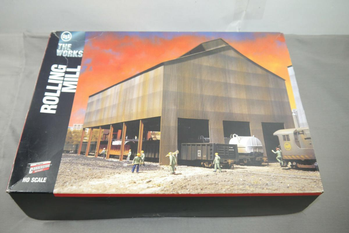 Walthers Cornerstone The Works  Rolling Mill  Modellbausatz H0 1:87 ( MF19 )