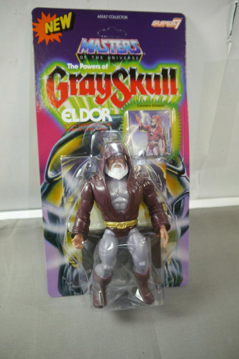MASTERS OF THE UNIVERSE The Powers of Grayskull  Eldor  SUPER 7   (KA10)