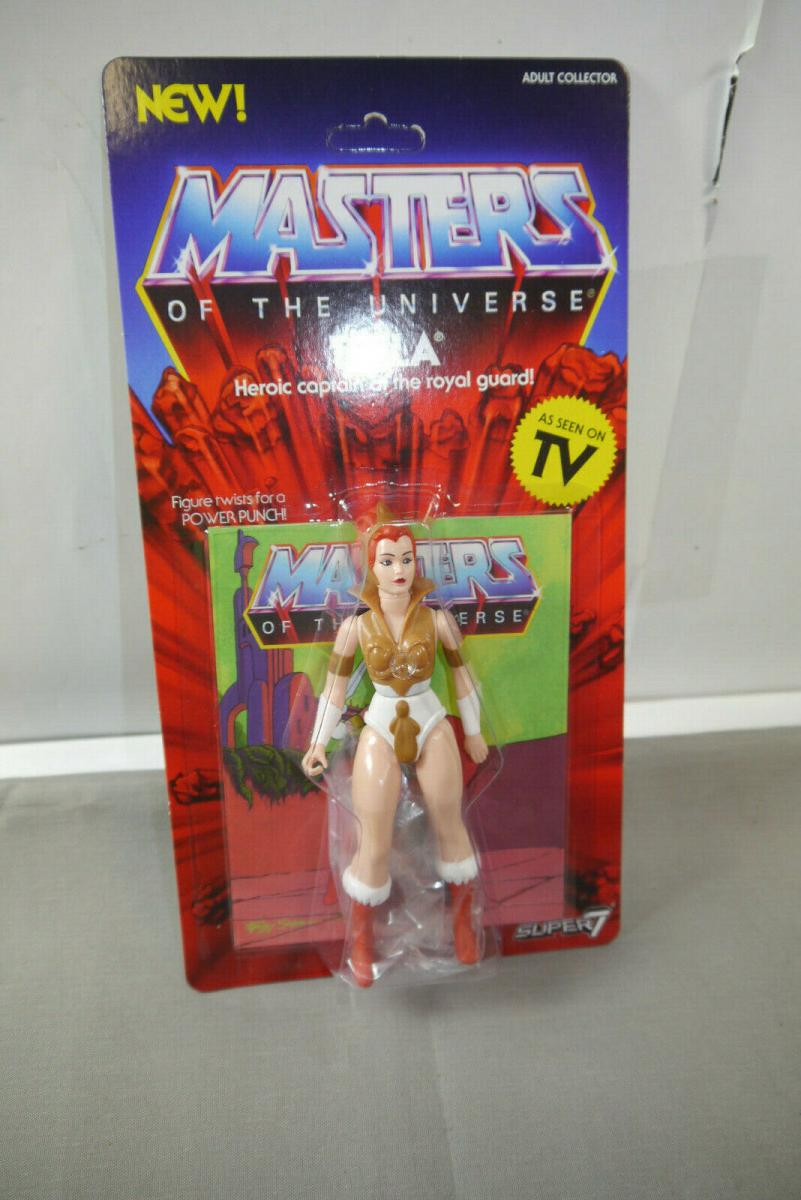 MASTERS OF THE UNIVERSE Vintage Collection Teela  SUPER 7   (KA8)