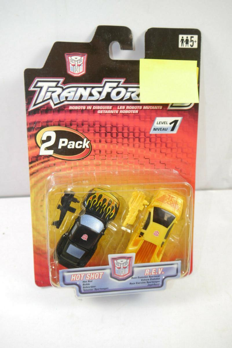 TRANSFORMERS Robots in Disguise - Hot Shot & R.E.V. Autos Actionfigur HASBRO K91