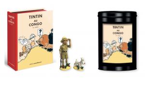 TIM & STRUPPI im Kongo Colorized VO Comic + Pixi Figur + Kaffee mit Dose #C (L)*